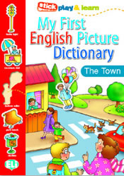 PICT. DICTIONARY [A1]:  MY FIRST ENGLISH - In Town