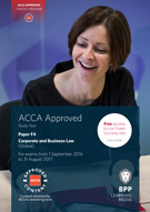 2017 ACCA - F4 Corp and Business Law (GLO), Study Text (Sept 17 - Aug 18)
