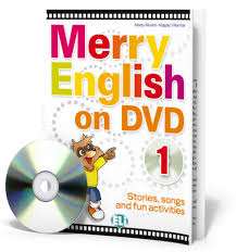 MERRY ENGLISH 1+DVD