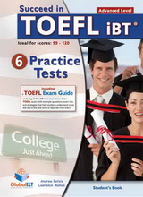 TOEFL Practice Tests [Succeed]:  SB (6 tests)