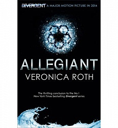 Allegiant (Divergent Trilogy, Book 3, black cover), Roth, Veronica