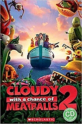 Rdr+CD: [Popcorn (Lv 2)]:  Cloudy with a Chance of Meatballs 2