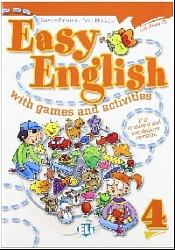 EASY ENGLISH with games and activities 4+CD