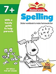Help with Homework Workbook 7+: Spelling
