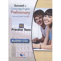 Succeed in Cambridge PET - 10 Practice Tests - Audio CDs
