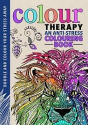 Colour Therapy Colouring Book