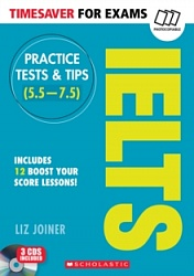 Timesaver:  Practice Tests and Tips for IELTS+CD(x3)