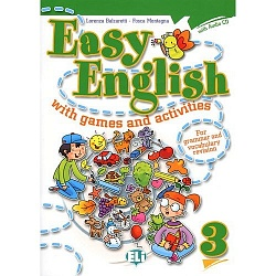 EASY ENGLISH with games and activities 3+CD