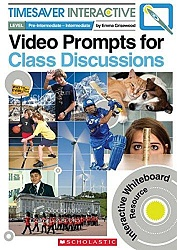 Timesaver Interactive:  Video Prompts for Class Discussion