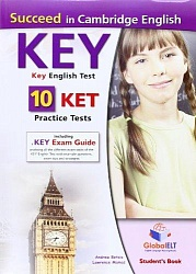 KET Practice Tests [Succeed]:  SB (10 tests)+CD+Key