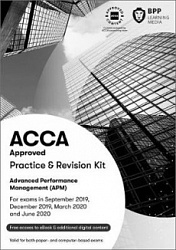 2019 ACCA - P5 Advanced Performance Management, Revision Kit (Sept 19 - Aug 20)