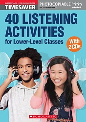 Timesaver:  40 Listening Activities for Lower-level Classes + CD(x2)