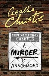Murder is Announced, A, Christie, Agatha