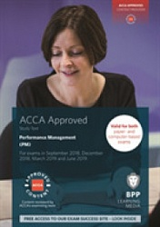 2018 ACCA - F5 Performance Management, Study Text (March 18 - Aug 19)
