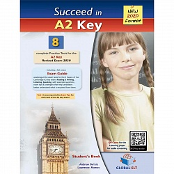 KET Practice Tests 2020 [Succeed]:  SB (8 tests)+CD+Key