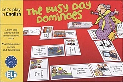 GAMES: [A2-B1]:  BUSY DAY DOMINOES (New Ed)