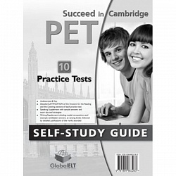 PET Practice Tests [Succeed]:  SB (10 tests)+CD+Key