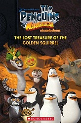 Rdr+CD: [Popcorn (Lv 1)]:  The Penguins of Madagascar: The Lost Treasure of the Golden Squirrel