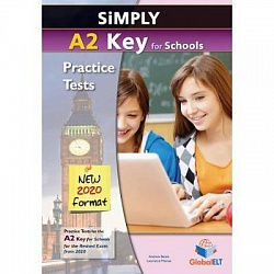 KET 2020: Practice Tests [Simply]:  SB (8 tests)+CD+Key