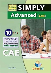 CAE 2015: Practice Tests [Simply]:  SB (10 tests)+CD+Key