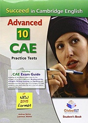 CAE Practice Tests [Succeed]:  SB (10 tests)+CD+Key