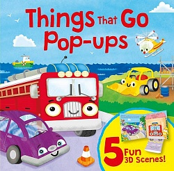 Flap Pop-Up Books: Things that Go